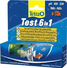 Tetra Test Strips 6 in 1